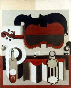 Corbusier - Red Violin