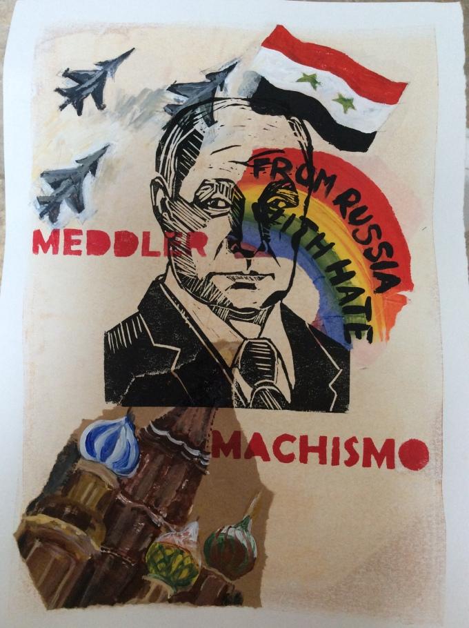 Final Combination Print - Vladimir Putin